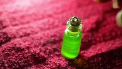 Magic potion little jar tiny elixer elixir Stock Footage