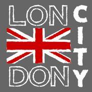 London City design - stock illustration