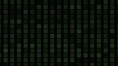 4k Square block brick matrix,tech computer debris data,information background. Stock Footage