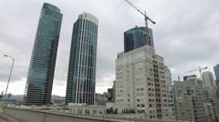 San Francisco Skyscarper Stock Footage