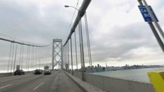 San Francisco Bridge Stock Footage