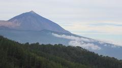 Mountain summit - Pico del Teide, Tenerife Stock Footage