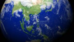 4K Earth Zoom: Manila - Philippines Stock Footage