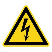 Danger electricity sign Stock Illustration
