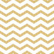 Classic chevron stripe glitter shimmer seamless vector pattern Stock Illustration