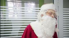 Dancing Santa Claus Stock Footage