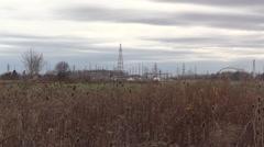 The Allenburg Transformer Station - stock footage