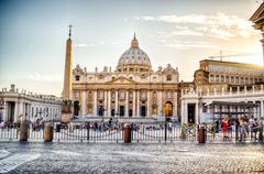 St. Peter's Basilica, Vatican City - stock photo
