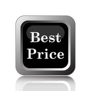 Stock Illustration of Best price icon. Internet button on white background..