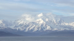 The highest mountain in North America, Denali, is in the Alaska Range. Stock Footage