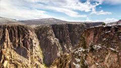 Black Canyon of the Gunnison, Colorado Stock Footage