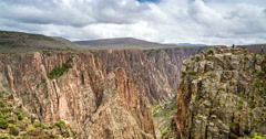 Black canyon  4k Stock Footage