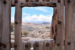 Desert Tabernas in Almeria Province Spain Stock Photos