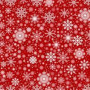 Seamless Winter Background Stock Illustration