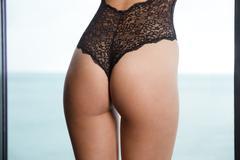Sexy female hips - stock photo
