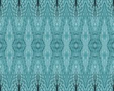 Seamless diamond pattern turquoise Stock Illustration