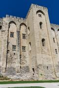 Avignon - View on Popes Palace, Provence, France Stock Photos