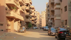 EGYPT Streets Of Cairo - stock footage