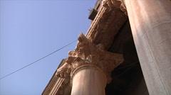 Bosra amphitheater - stock footage