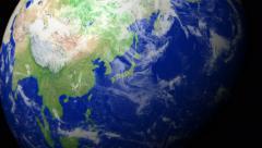 4K Earth Zoom: Tokyo - Japan Stock Footage
