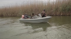 Looking fishing spots Stock Footage