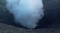 Stock Video Footage of Bromo volcano in Indonesia