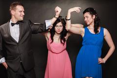 Marital infidelity concept. - stock photo