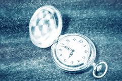 Pocket watch. vintage artifact Stock Photos