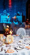 Stock Photo of Table set for wedding