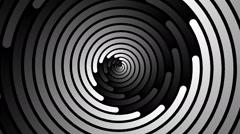 Swirling hypnotic spiral - 101-yna - stock footage