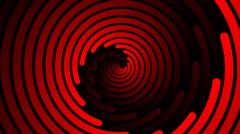 Swirling hypnotic spiral - 102-zna - stock footage