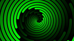 Swirling hypnotic spiral - 103-zpa - stock footage