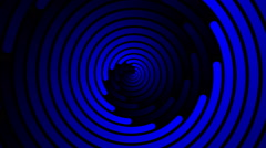 Swirling hypnotic spiral - 104-yna - stock footage