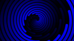 Swirling hypnotic spiral - 104-zna Stock Footage