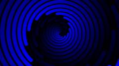 Swirling hypnotic spiral - 104-zpa Stock Footage