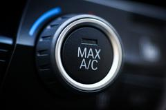 Car air conditioning - stock photo