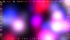 Colorful multi colored animated background Stock Footage