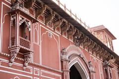 Fascinating Architecture in Chandra Mahal - stock photo