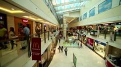 DLF Saket Mall Timelapse Delhi Stock Footage