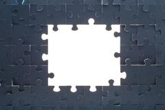 Grey puzzle background with empty space Kuvituskuvat