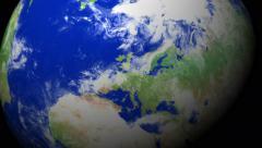 4K Earth Zoom: Brussels - Belgium Stock Footage