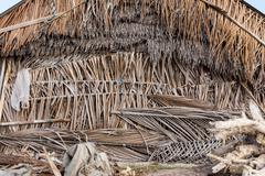 Stock Photo of indonesian house - shack on beach