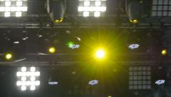 Concert Soundlights Stock Footage