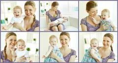 Motherhood - stock photo
