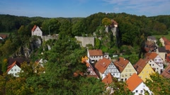 Castle Betzenstein in Germany Stock Footage