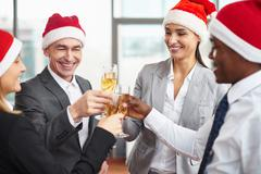 Christmas party - stock photo
