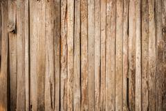 High resolution brown vintage natural wood grain texture - stock photo