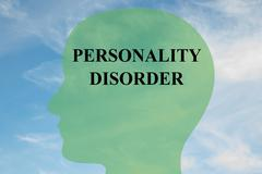 Personality Disorder concept - stock illustration