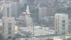 Amman city Jordan Stock Footage