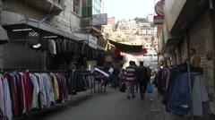 Market Amman city Jordan Stock Footage